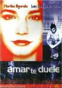Martha Higareda Luis Fernando Pena Amar Te Duele Dvd For Sale Online Ebay