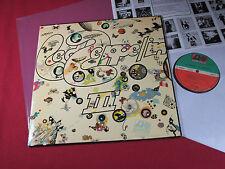 Led Zeppelin  III  -  Lp Atlantic ATL 50002 Germany sehr gut