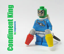 LEGO Custom - Condiment King - DC Super heroes mini figure Batman Movie