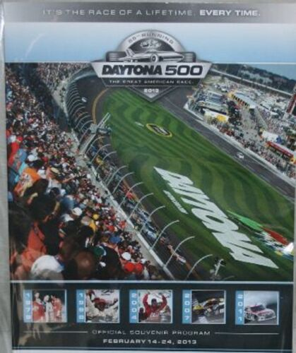2013 DAYTONA 500 PROGRAM JIMMIE JOHNSON CHAMPION W//RACE DAY INSERTS /& PROMOS