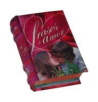 Frases De Amor Libro Miniatura De Fácil Lectura Pasta Dura Mas De 400 Pgs