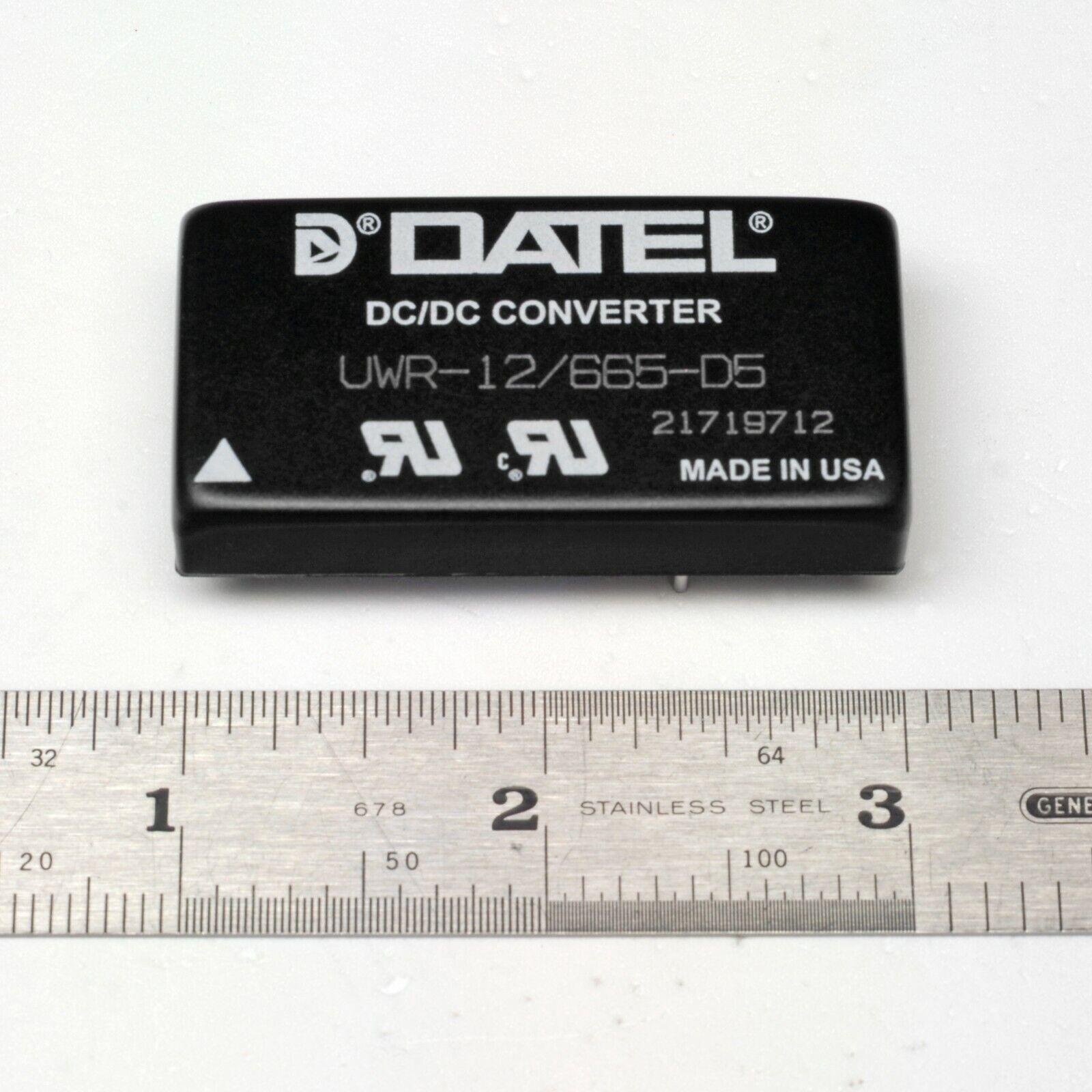 Uwr-12//250-d5 Datel DC//DC CONVERTER Vout 12vdc 250ma
