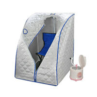 Portable Therapeutic Steam Sauna House Spa Slim Detox Weight Loss Home Indoor