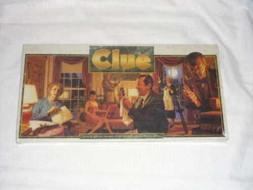 Vintage 1993 Hasbro Clue NEW & SEALED Canadian Version