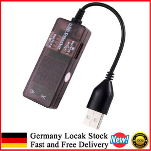 USB Ladegerät Doktor Spannung Messer Strommessgerät Amp Volt Tester Detektor