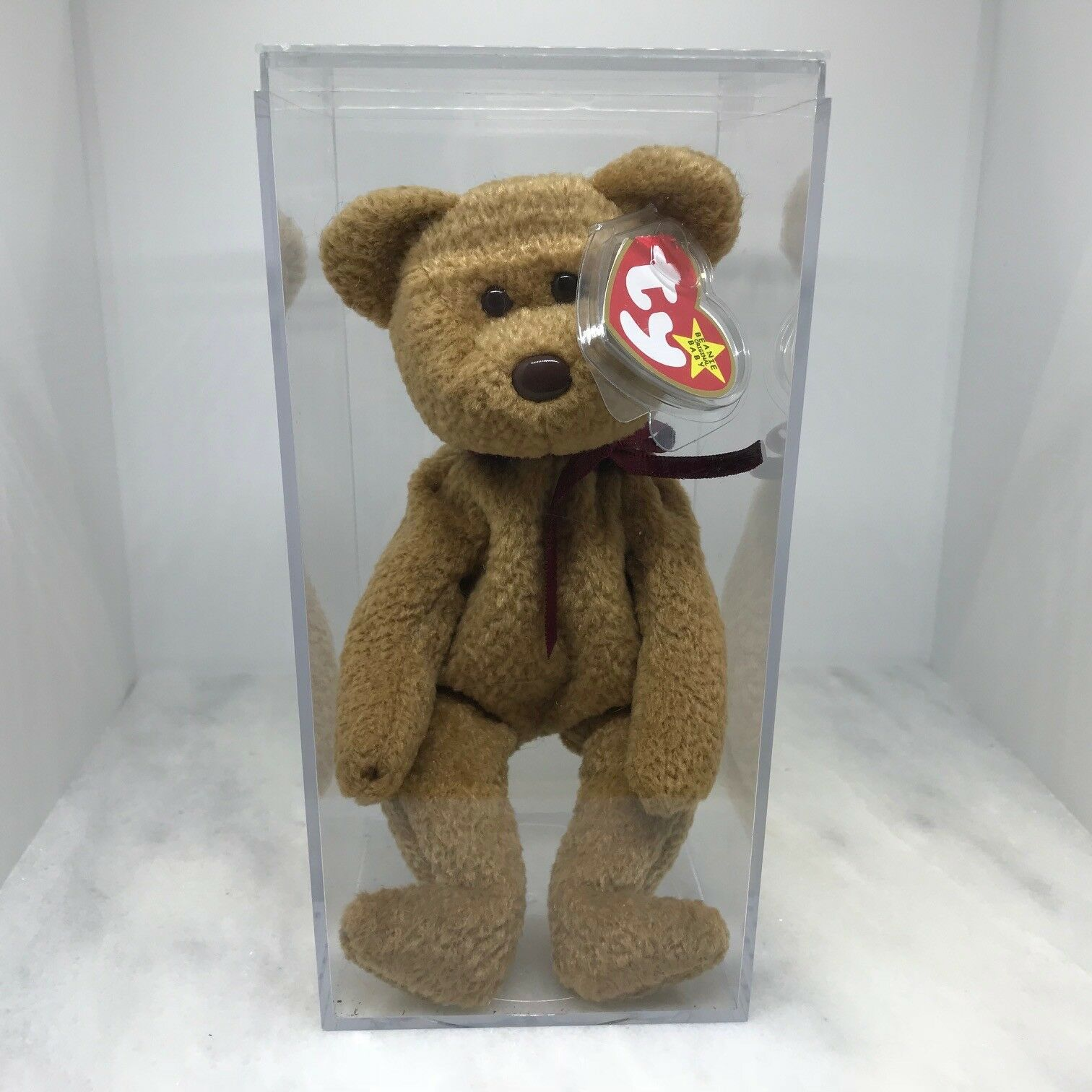 Pensionerad Original Beanie bebis, Cubbie 1993, Tags and låda inkluderad.