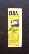 L726 - Advertising Pubblicità - 1960 - ELNA SUPERMATIC