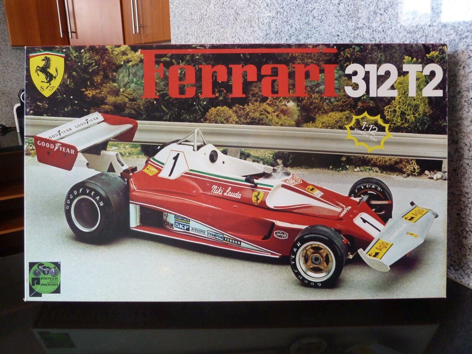 1 12 Predar, Ferrari 312 T2 (not Tamiya)