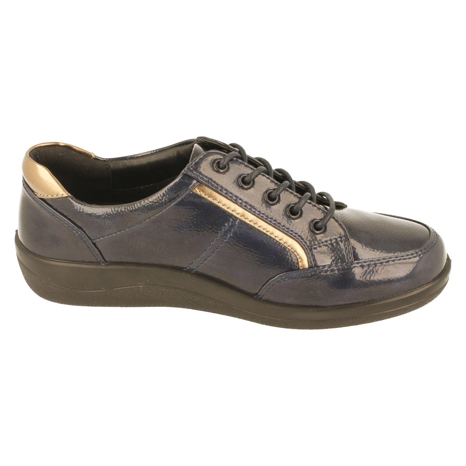 Damen Padders Schnürer Schuhe mit weiter Passform Passform Passform Schuhe - Atom fa06d6