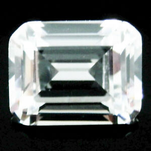 1-75Ct-6x8mm-EMERALD-CUT-My-Russian-Diamond-Simulated-Lab-Created-Loose-Stones