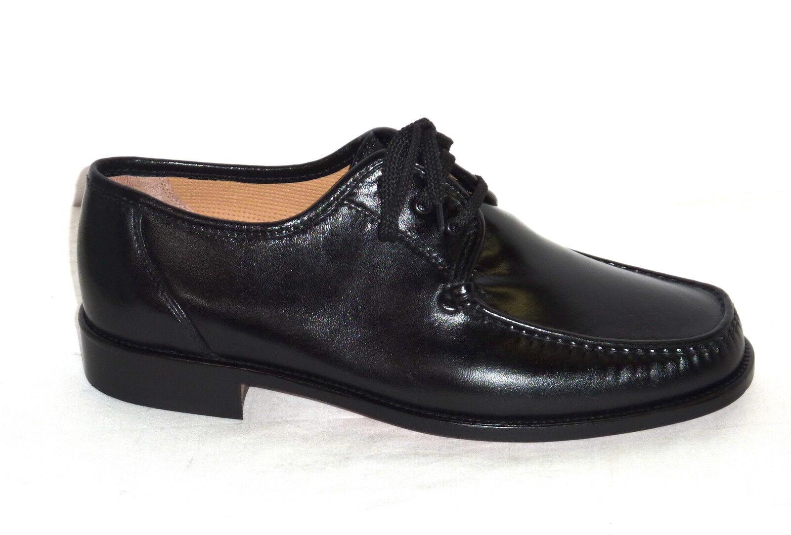 U4290H MELLUSO zapatos hombres ALLACCIATE PELLE VITELLO negro MODA COMODA n. 39