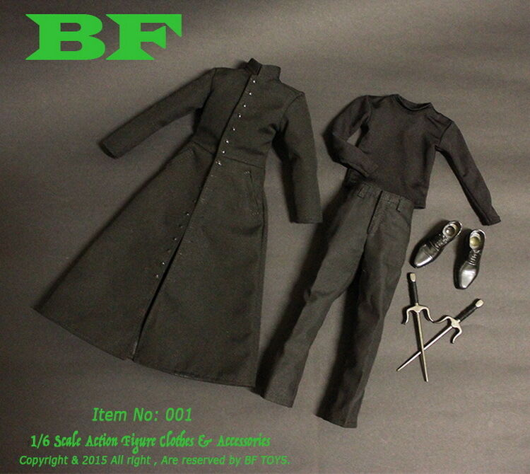 BF Toys 1 6 Figure Matrix Neo Leo Keanu Reeves Clothing Sets & accessoires Hot