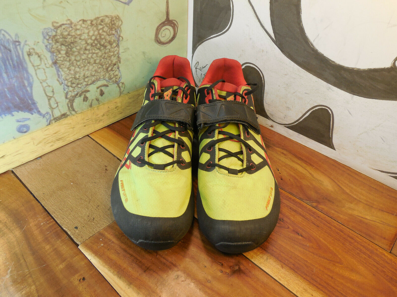 Inov8 FastLift-335 Yellow Weightlifting shoes Men's 13