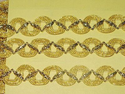 1m Goldborte 15mm Zierborte Borte GB11