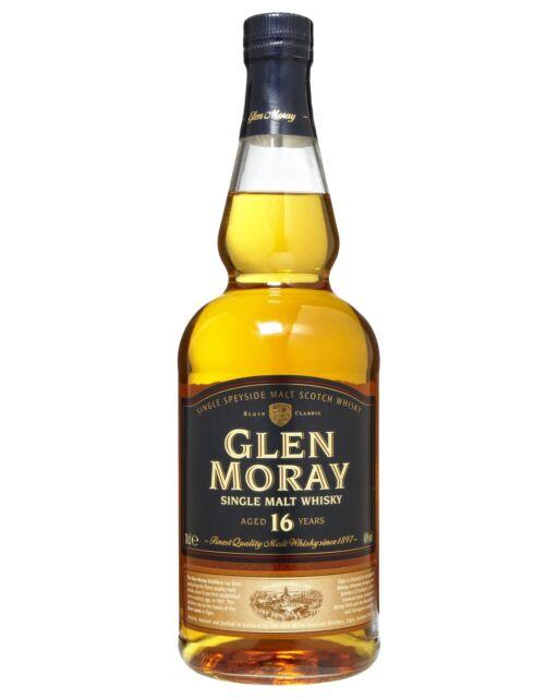 Glen Moray 16 Year Old Scotch Whisky 700mL bottle Single Malt Speyside