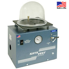 KAYA VEST VACUUM TABLE INVESTMENT JEWELRY REMOVING AIR BUBBLES CASTING MACHINE