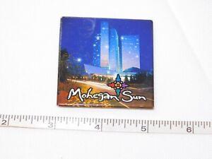 Mohegan-Soleil-5-4cm-x-5-4cm-Carre-Refrigerateur-Aimant-Refrigerateur-D-039-Occasion