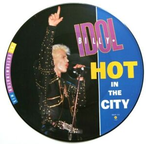 MINT-BILLY-IDOL-Hot-In-The-City-12-034-VINYL-PICTURE-PIC-DISC