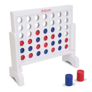 Giant Connect 4 Large Outdoor Games Yard Big Huge Four Lawn Wooden Jumbo Gam NEW