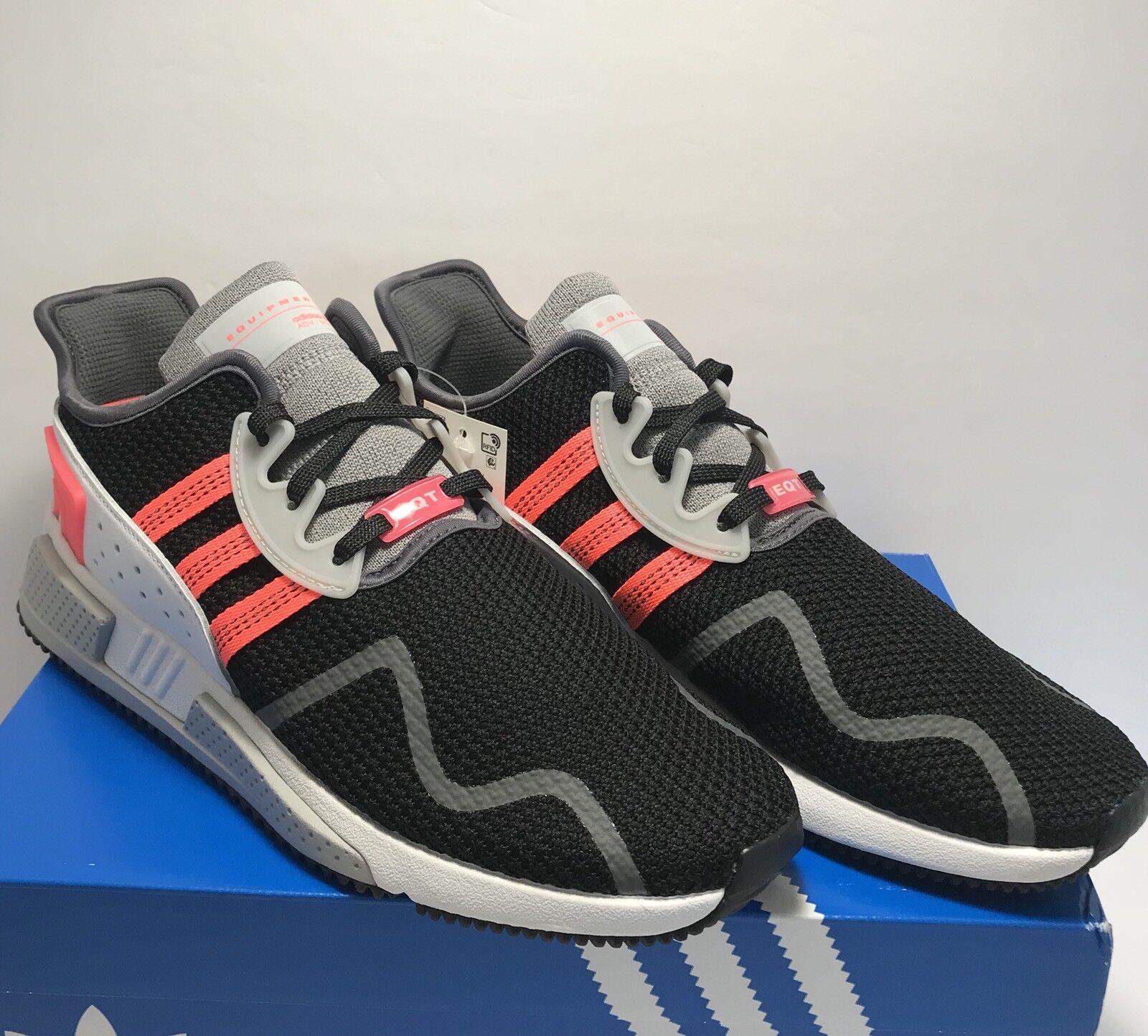 Adidas Uomo Size 11 EQT Cushion Adv Originals Training Shoe Nero Pink White