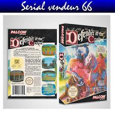 """Boitier du jeu """" DEFENDER OF THE CROWN """", Nintendo, Nes. FR. HD. SANS LE JEU."""