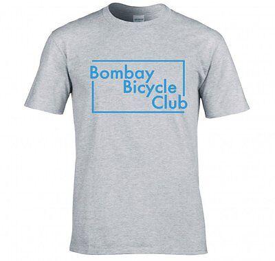"BOMBAY BICYCLE CLUB ""BOX LOGO"" T SHIRT NEW"