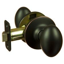 Lot of 10 Hensley Oil Rubbed Bronze Passage Egg Door Knobs (Hall & Closet)