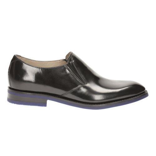 G Leather on 10 Mens 5 Clarks Slip Swinley Uk Black Step pSFqv