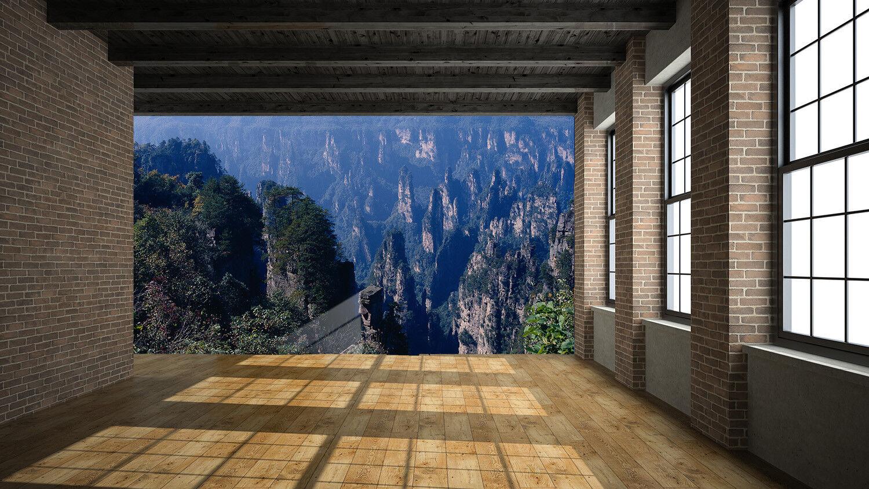 3D Landschaft Berg 753 Tapete Wandgemälde Tapete Tapeten Bild Familie DE Summer  | Sonderaktionen zum Jahresende  | Der Schatz des Kindes, unser Glück  | Kaufen