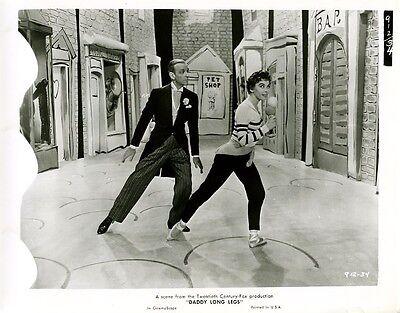 Daddy Langbein ORIGINAL US-Pressefoto Astaire / Caron