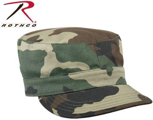 Woodland Camouflage Patrol Cap Military Army Patrol Fatigue Hat Rothco 4510
