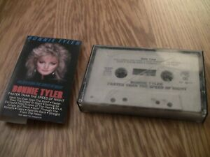 BONNIE-TYLER-Faster-Than-the-Speed-of-Night-1983-CASSETTE-TAPE-Total-Eclipse