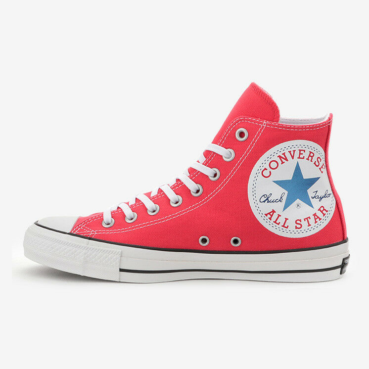 CONVERSE ALL STAR 100 HUGEPATCH HI Red Limited Chuck Taylor Japan Exclusive