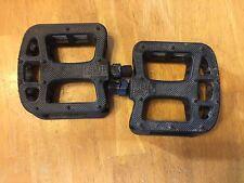 """Fit Bike Co BMX Platform Pedals - 9/16"""" Plastic"""