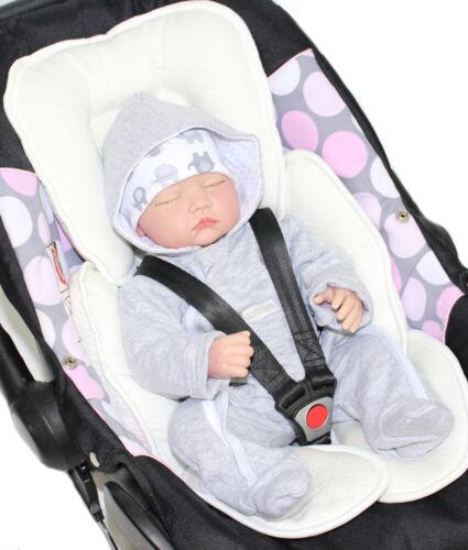Sitzverkleinerer mit ALOE VERA  Baby Kind für Auto Kindersitz Babyschale Einsatz
