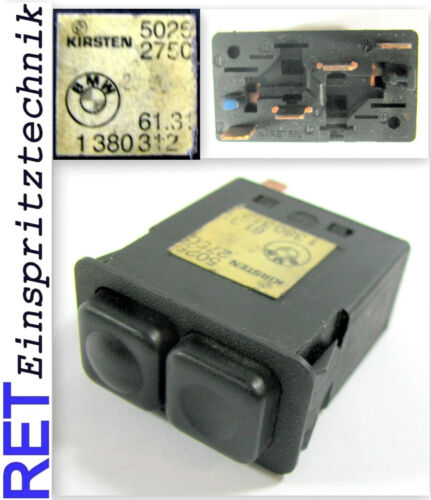 Schalter Nebelscheinwerfer Kirsten 1380312 BMW E 30 original