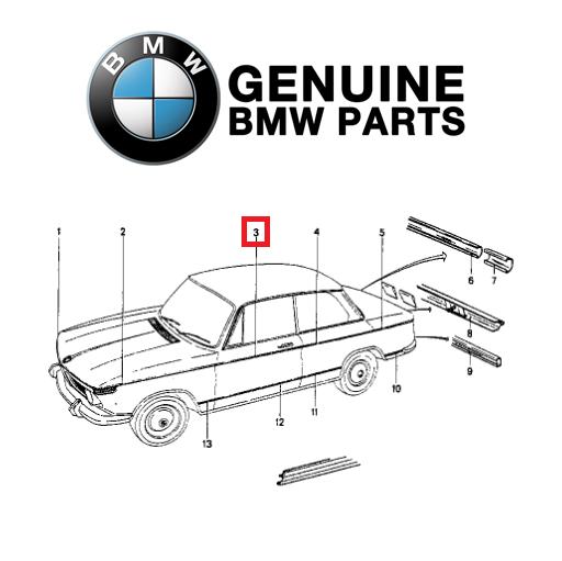 10x ORIGINALE BMW 83190301421-Blind niet n3 1er 3er 5er 6er 7er x1 x3 x5 x6 ad...