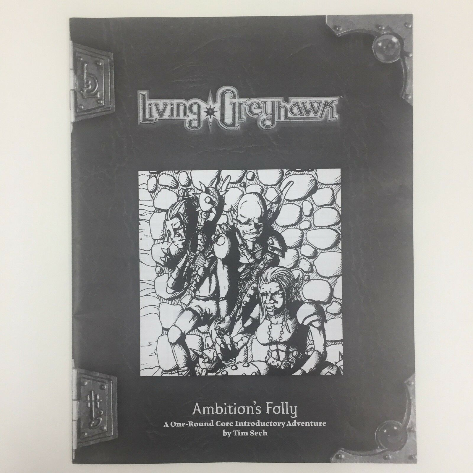 TSR Calabozos y Dragones D&d Rpg Living Greyhawk AMBITION'S Folly Intro Aventura