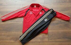 Details zu Adidas DFB Präsentationsanzug Matchworn 8 Trainingsanzug Jacke LXL Mercedes