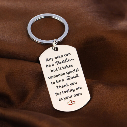 Gift Dad Mom Daughter Brother Son Dog Tag Message Quote Necklace Pendant Family