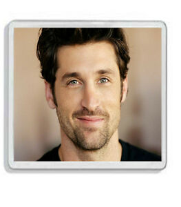 Details About Patrick Dempsey Greys Anatomy Drinks Coaster Great Gift