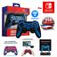 Nintendo-Switch-Pro-Controller-Turbo-Function-Bluetooth-wireless-joypad-joystick miniature 1