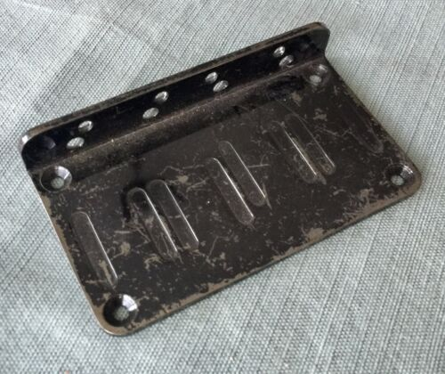 Jackson Bass Guitar Bridge Original Black Bridge Plate