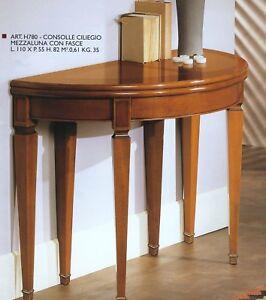 Tavolo Consolle Ciliegio.Dettagli Su Tavolo Consolle In Ciliegio Allungabile Xsoggiorno Ingresso Sedia 780
