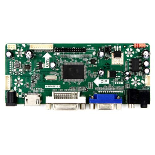 "HDMI DVI VGA Audio Control Board For 15/"" LTN150XB B150XG02 1024x768 LCD Screen"