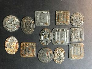 Market tokens for Williams bros supply stores x 13