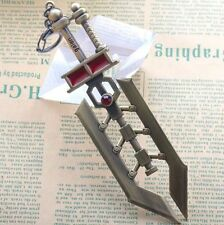 "DZ726 Hot Sale 6.3"" League of Legends LOL Garen Iron Keychain Keyring Pendant ✿"