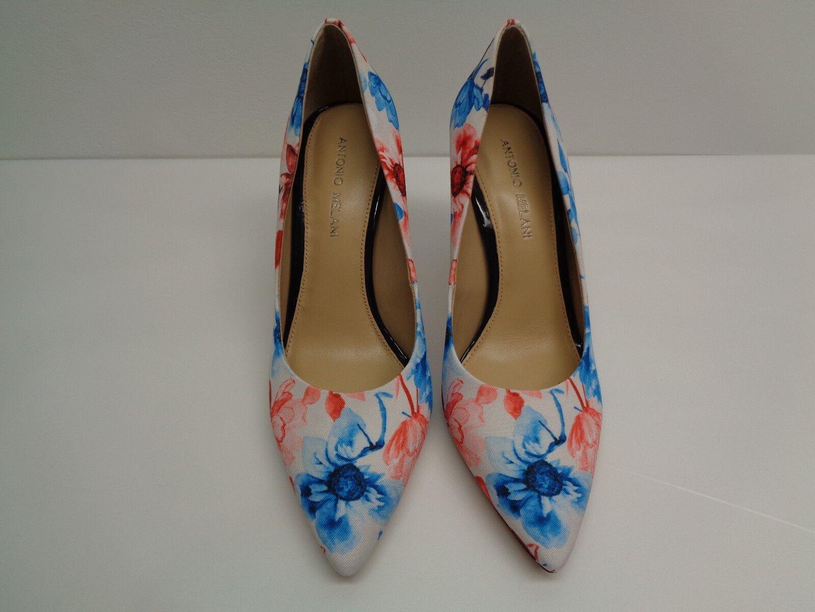 Antonio Melani Größe New 6 M MCBETH Floral Weiß Blau Pumps Heels New Größe Damenschuhe Schuhes 5881e5