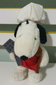 PEANUTS-SNOOPY-CHEF-CHARACTER-SOFT-PLUSH-TOY-18CM-TALL-EMIRATES-PROMO-TOY