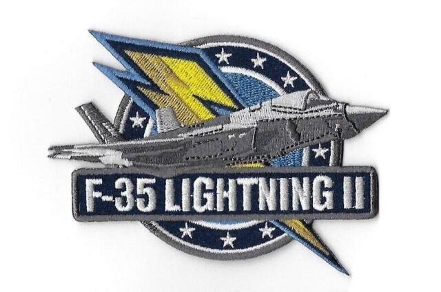 "F35 Lightning SLO RVR Driver Patch 4/"" Lockheed Martin Northrop Grumman"